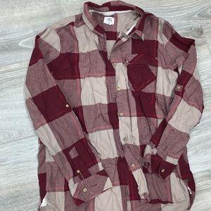 Ten tree plaid shirt